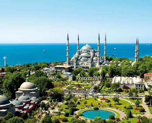 Turkija. Stambulas. Mėlynoji mečetė