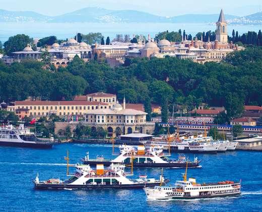 Turkija. Stambulas. Topkapi rūmai