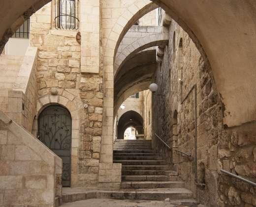 Izraelis. Jeruzalė. Žydų kvartalas
