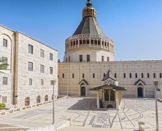 Izraelis. Nazaretas. Apsireiškimo Švč. Mergelei Marijai bažnyčia